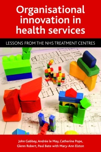 Organisational innovation in health services cover