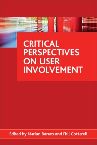 Critical perspectives on user involvement cover