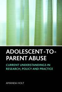 Adolescent-to-parent abuse cover