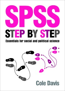 SPSS step by step cover