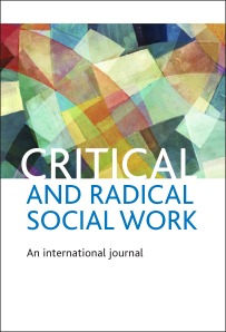 Critical and Radical Social Work cover