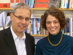 Steve Martin and Valeria Guarneros-Meza
