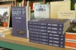 Bookshop display Baby P