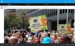 Al Gore at the Climate change 2014 march