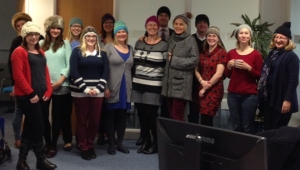 Woolly hat day