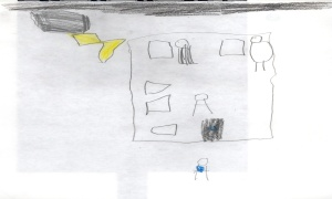 Happy house by a six year old