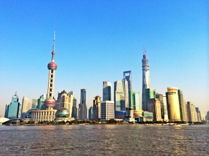 Shanghai - economic capital of China Photo credit - wikipedia