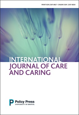 International journal of care and caring [FC] - small