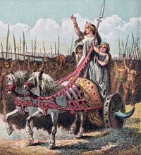 256px-Pictures_of_English_History_Plate_IV_-_Boadicea_and_Her_Army